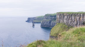 Clare cliffs of Moher Royalty Free Stock Photography
