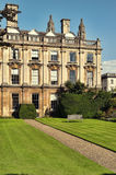 Clare College, Cambridge. Clare College at summer time Stock Image