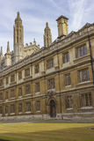 Clare College in Cambridge Royalty Free Stock Images