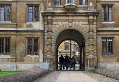 Clare College, Cambridge, England Royalty Free Stock Image