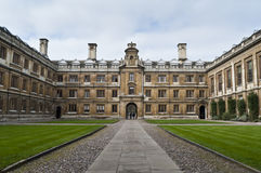 Clare college entrance cambridge University Royalty Free Stock Photography