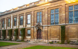 Clare college inner yard view, Cambridge Stock Photography