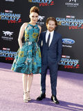 Clare Grant och Seth Green Royaltyfria Bilder