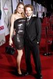 Clare Grant und Seth Green Lizenzfreies Stockbild