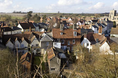 Clare, Suffolk Foto de Stock