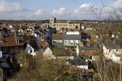 Clare, Suffolk. het UK Stock Foto's