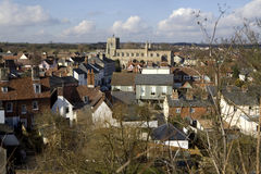 Clare, Suffolk. Reino Unido Fotos de archivo