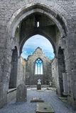 Clarecastle ruins Abbey in Ireland Royalty Free Stock Photo