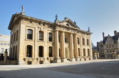 Clarednon Building Oxford uk Royalty Free Stock Image