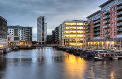Clarence Dock stock images