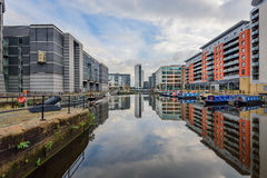 Clarence Dock Liverpool England stock photo
