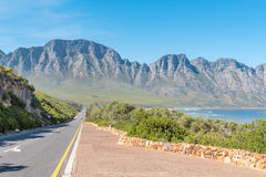 Clarence Drive between Gordons Bay and Rooi-Els Stock Images