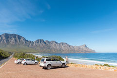 Clarence Drive between Gordons Bay and Rooi-Els Royalty Free Stock Photography