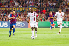 Clarence Seedorf in action Royalty Free Stock Photos