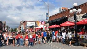 Clarence Street no dia de Canadá Imagem de Stock
