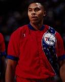 Clarence Weatherspoon, los Philadelphia 76ers Imagenes de archivo