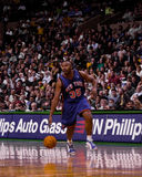 Clarence Weatherspoon New York Knicks Arkivfoton