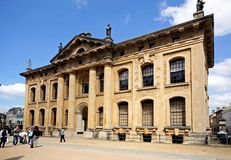 Clarendon building, Oxford. Stock Photo