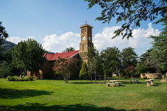 Clarens Church, Free State South Africa. Clarens Church, Free State in South Africa Royalty Free Stock Photography