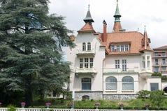 Clarens hus royaltyfri foto