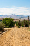 Clarens roads Royalty Free Stock Photography