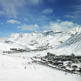 Claret di Val, Francia fotografia stock
