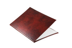 The claret folder for remuneration Stock Photo