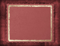 Claret framework on an abstract background. Gold frame Stock Photo