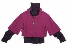 Claret jacket Royalty Free Stock Photography