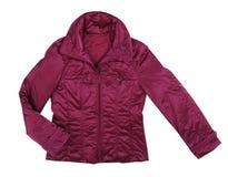 Claret jacket Royalty Free Stock Photo