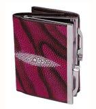 Claret purse Stock Photo