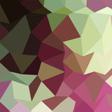 Claret Red Abstract Low Polygon Background Stock Image