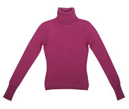 Claret sweatshirt Royalty Free Stock Images