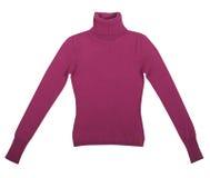 Claret sweatshirt Royalty Free Stock Images