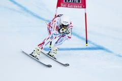 CLAREY Johan in FIS Alpien Ski World Cup - super-g van 3de MENSEN Stock Afbeelding