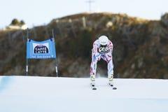 CLAREY Johan i FIS alpina Ski World Cup - 3rd MÄNS SUPER-G Arkivfoto