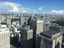 Claridade do Tóquio Fotografia de Stock