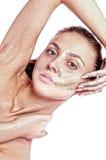 Clarification d'une peau Photographie stock libre de droits