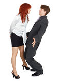 Clarification of personal relationships Royalty Free Stock Photos