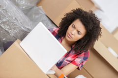 Clarifying where to send items Stock Photo