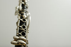 Clarinet. Details Royalty Free Stock Images