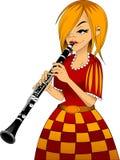 Clarinet stock abbildung