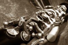 Clarinet, fotografia de stock