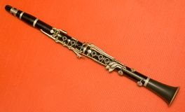 Clarinet Fotografie Stock