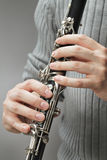 Clarinet photographie stock