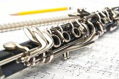 Clarinet Foto de archivo libre de regalías