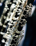 Clarinet angular Stock Photo