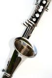 Clarinet baixo Foto de Stock Royalty Free