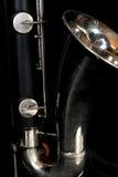 Clarinet basso 003 Fotografie Stock Libere da Diritti