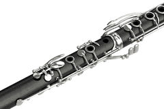 Clarinet classical musical equipment, close view Stock Images